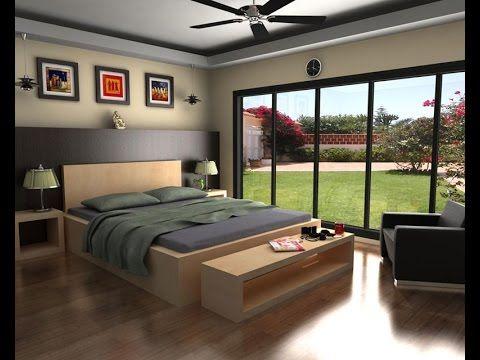 auto desk maya 3d modeling a bed room set part 1 - 3d Room Designs