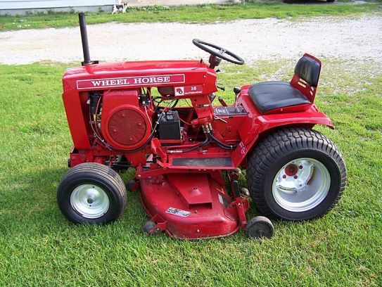 1973 Wheel Horse Auto 16 Wheel Horse Toro Gallery Small Garden Tractor Wheel Horse Tractor Tractor Mower