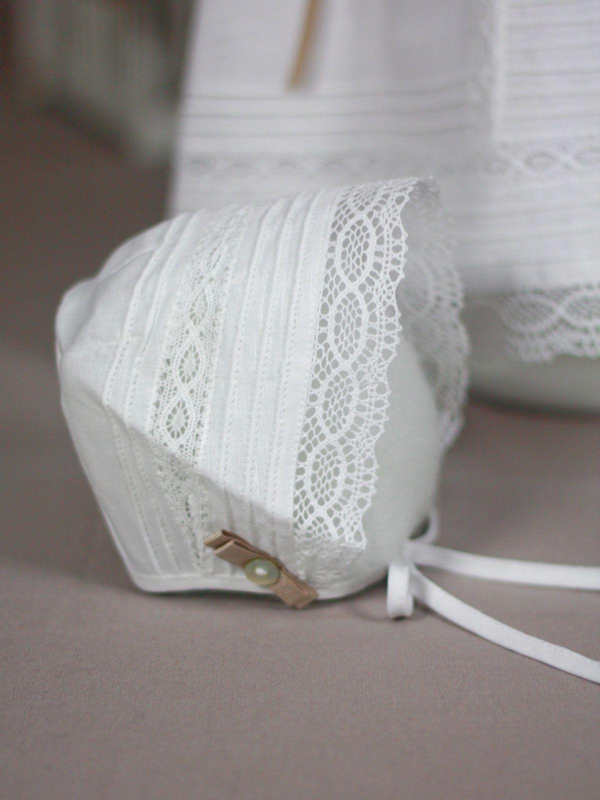 Capota lino blanco Paz Rodriguez de Bebe | Les Bébés | قبعات ...