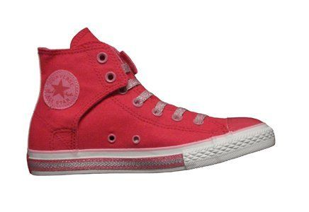Converse Chuck Taylor All Star Easy Slip Hi Top Raspberry