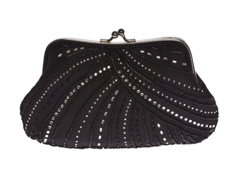 Exquisite Small Black Evening Bag
