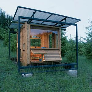 15 small green homes country homes pinterest house house design and architecture. Black Bedroom Furniture Sets. Home Design Ideas