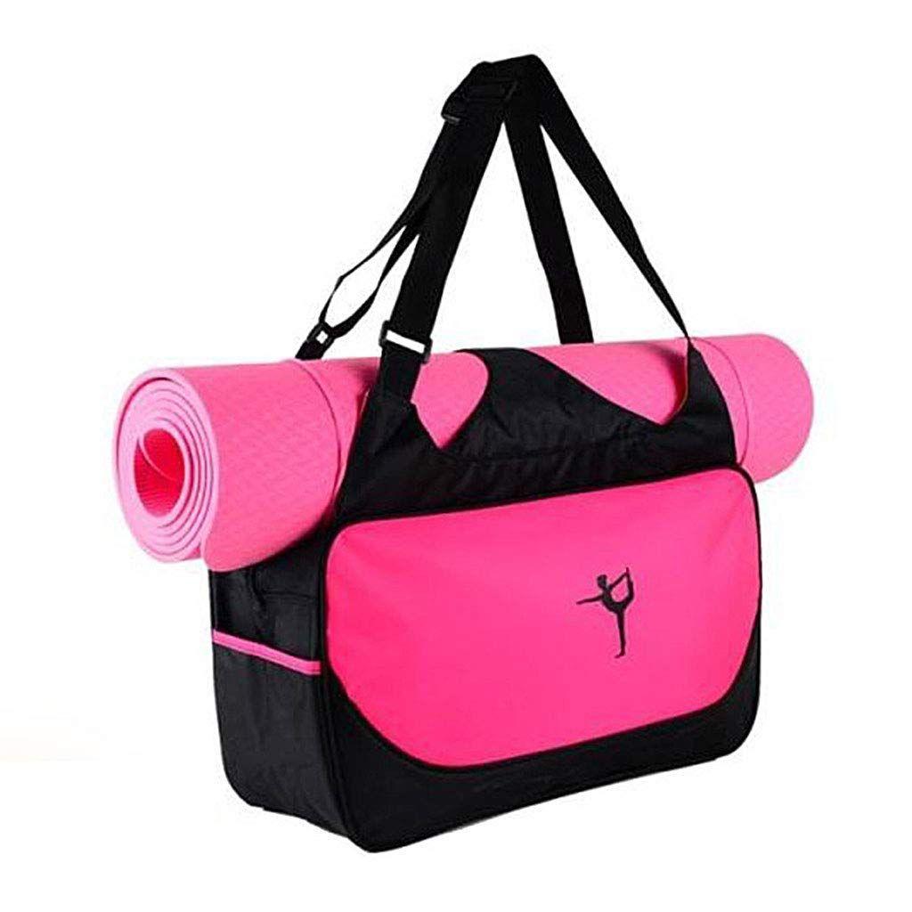 5ba2734080 JAGENIE Tapis de Yoga Sac fourre-Tout Support étanche de Transport Sport Gym  Fitness Sac