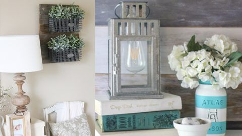 30 DIY Farmhouse Decor Ideas For Your Bedroom | DIY Joy Projects and Crafts Ideas