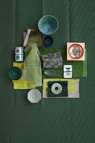 Green mood janne peters mood boards stilleben for Raumgestaltung prasentation