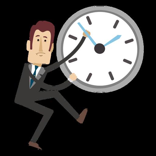 Businessman Cartoon Reversing Time Png Office Cartoon Time Cartoon Cartoon