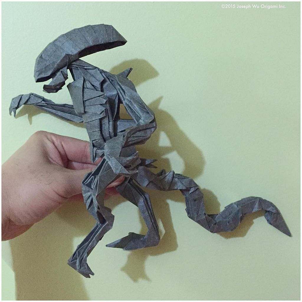 origami xenomorph
