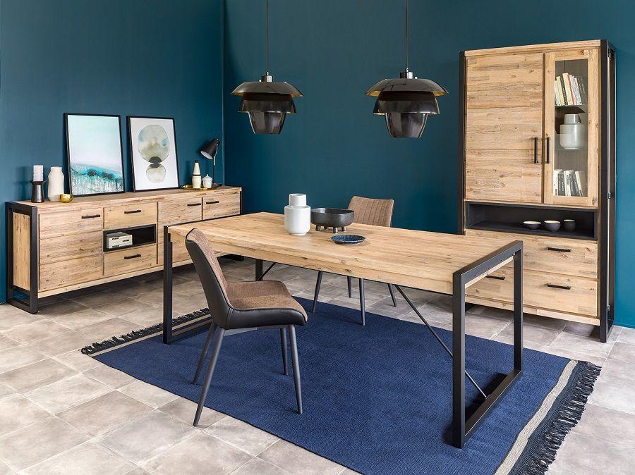 table rectangulaire zara bois naturel