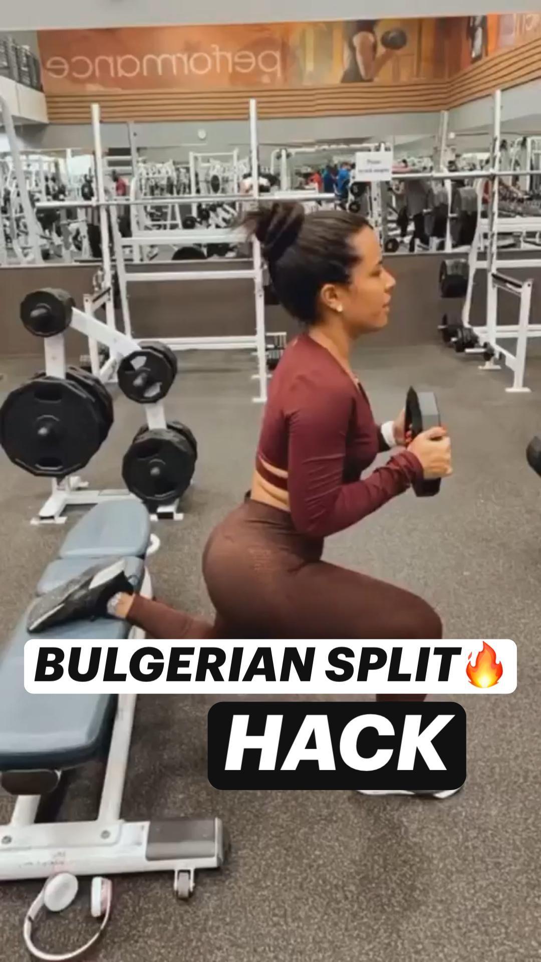 BULGERIAN SPLIT HACK🔥