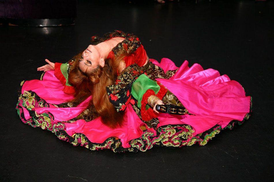 Gypsy dancer Anna