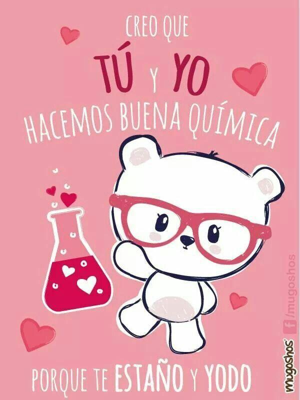 Eso Es Tener Buena Quimica Imagenes Bonitas De Amor