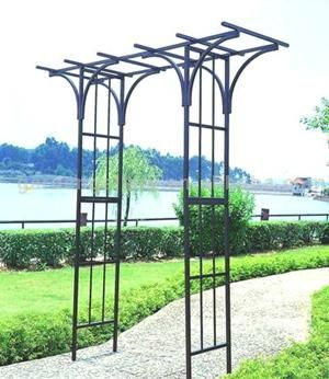 garden arch metal arch outdoor steel arch Arch Pinterest