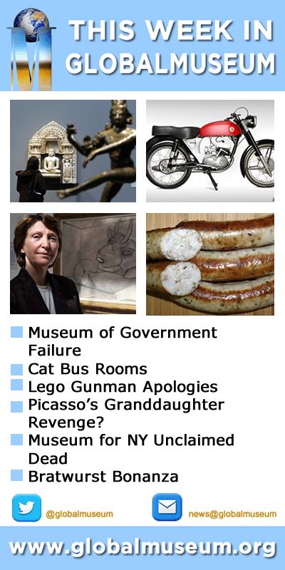 This Week in Global Museum - www.globalmuseum.org #museum #globalmuseum #news #jobs