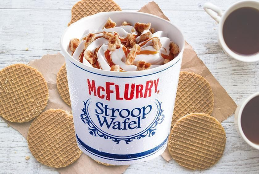 Mcdonalds Is Testing A Stroopwafel Mcflurry Fast Food