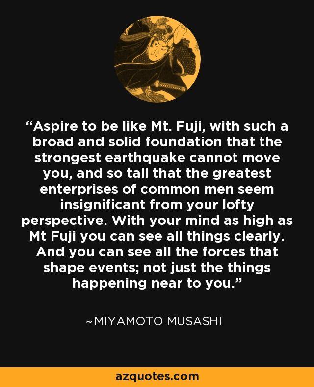 Miyamoto Musashi Quote