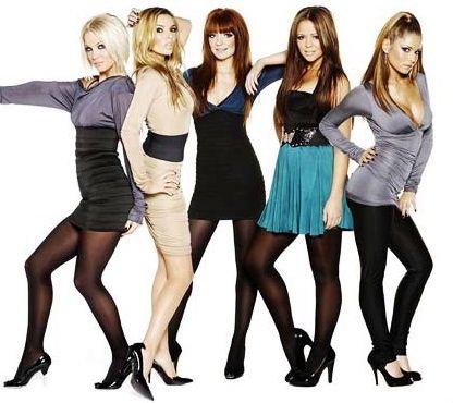 Pantyhose girls aloud