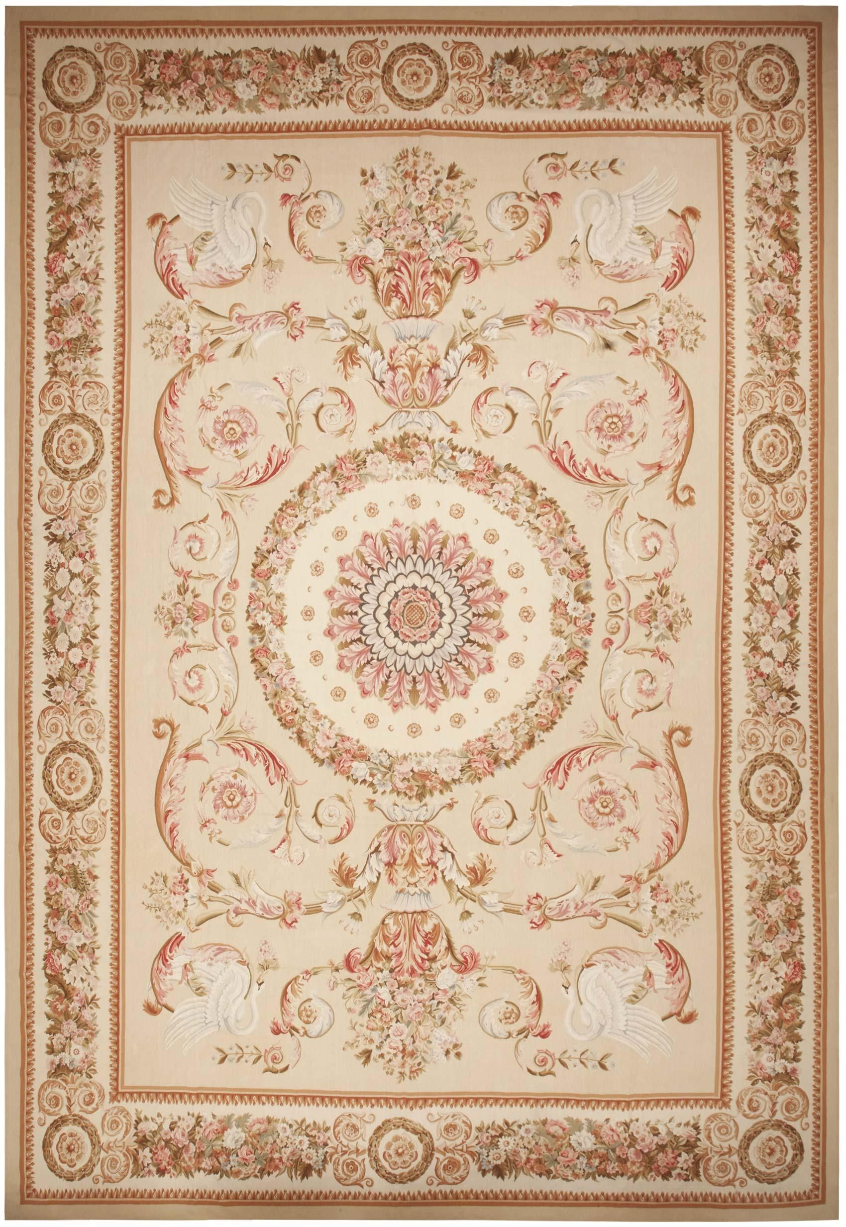 Modern Aubusson Design Rug 44693 Rugs On Carpet Rugs