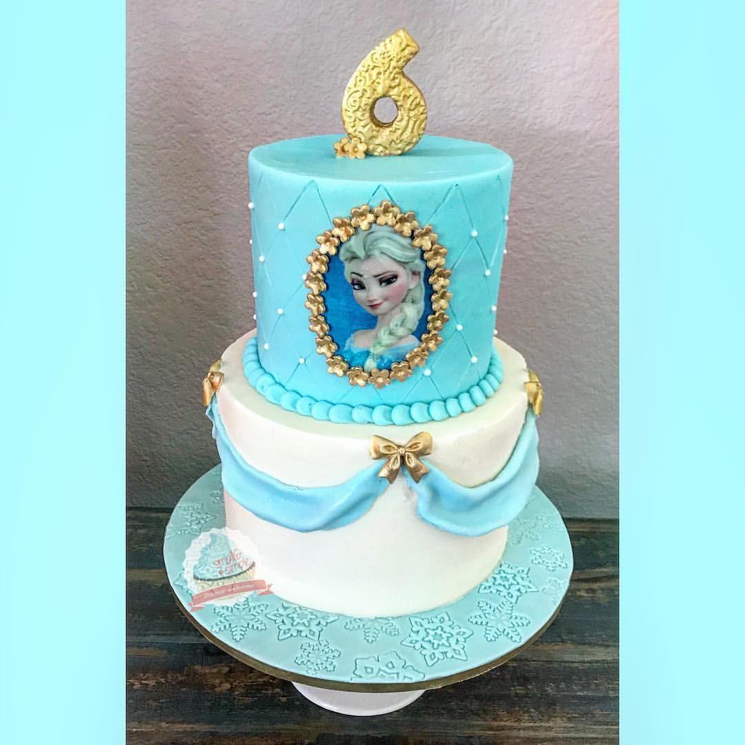 Elsa Frozen Cake Smallandsimpleconfections