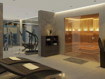 Interiores de Viviendas modern home gym | For the Home | Pinterest ...