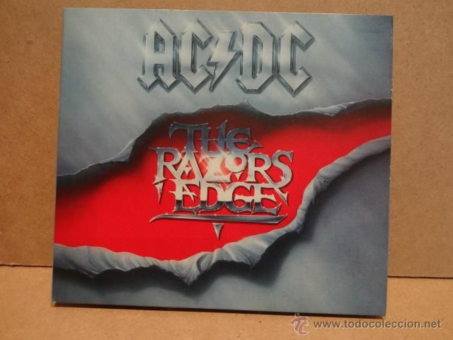 AC/DC. THE RAZORS EDGE. CD-DIGIPACK / EPIC - 2003. 12 TEMAS. CALIDAD LUJO.