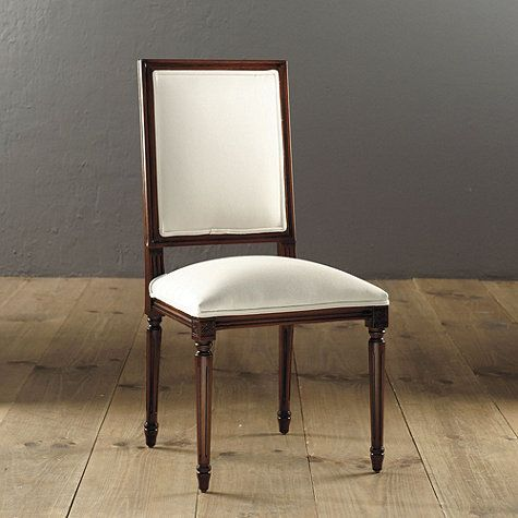 Nice Square Back Louis XVI Side Chair