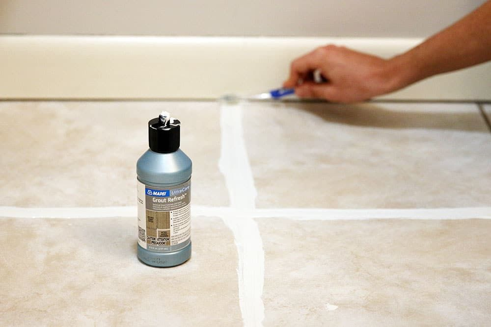 How To Make Your Grout Look New In An Afternoon For 10 Grout