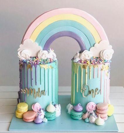 Super Baby ersten Geburtstag Mädchen Kuchen Dessert Tabellen Ideen   – 1st Birthday
