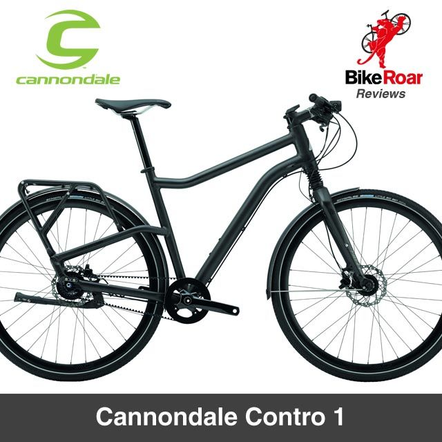 Review Cannondale Contro 1 The Stealth Bomber Of The Urban