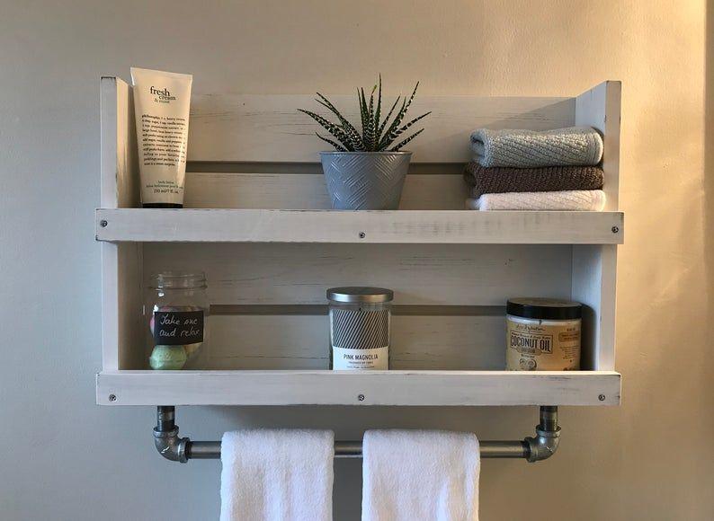 Zingz and Thingz Nantucket Bathroom Wall Shelf