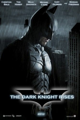I can't wait for the Dark Knight Rises