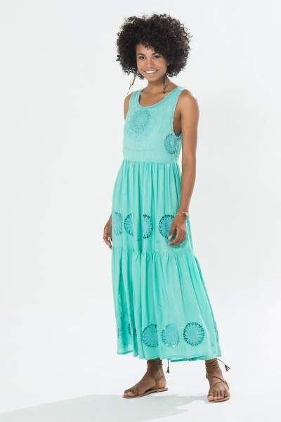 vestido richilier mandalas