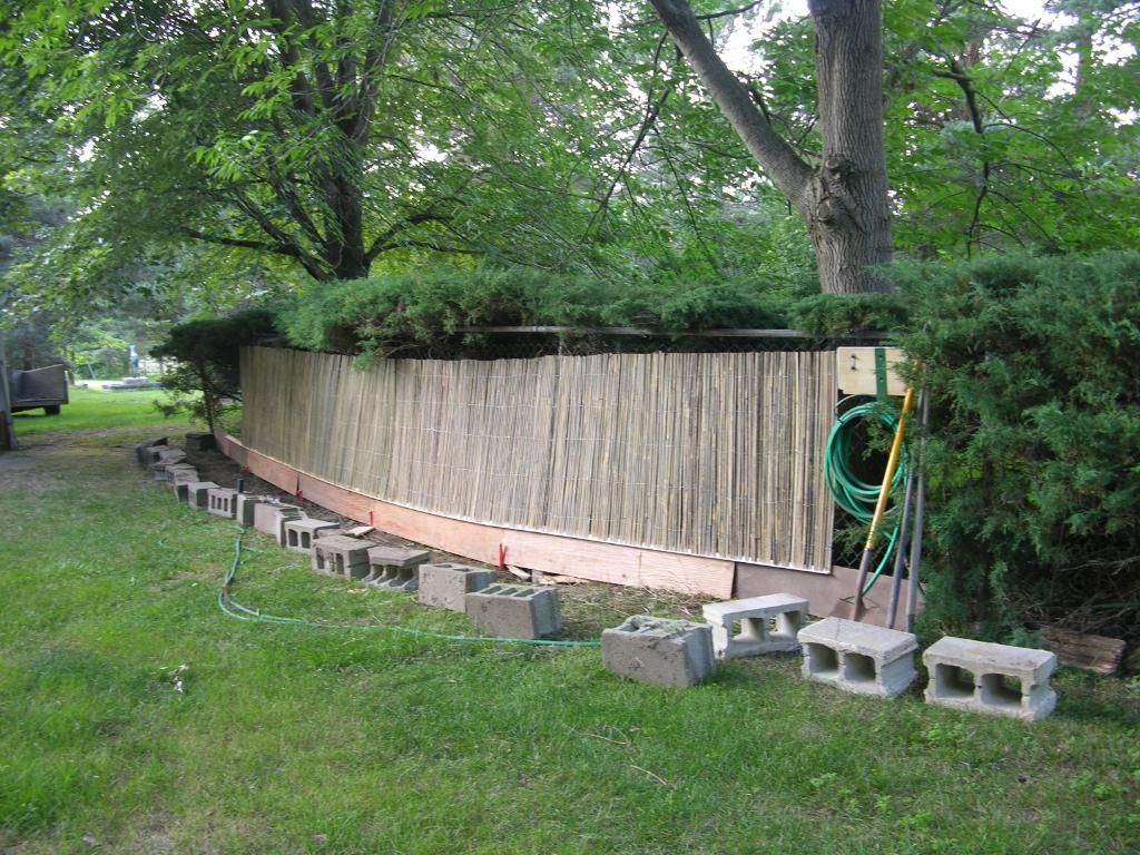 #Bamboo #fence Panels Are Easy To Install And Can Be Used To Visually Divide