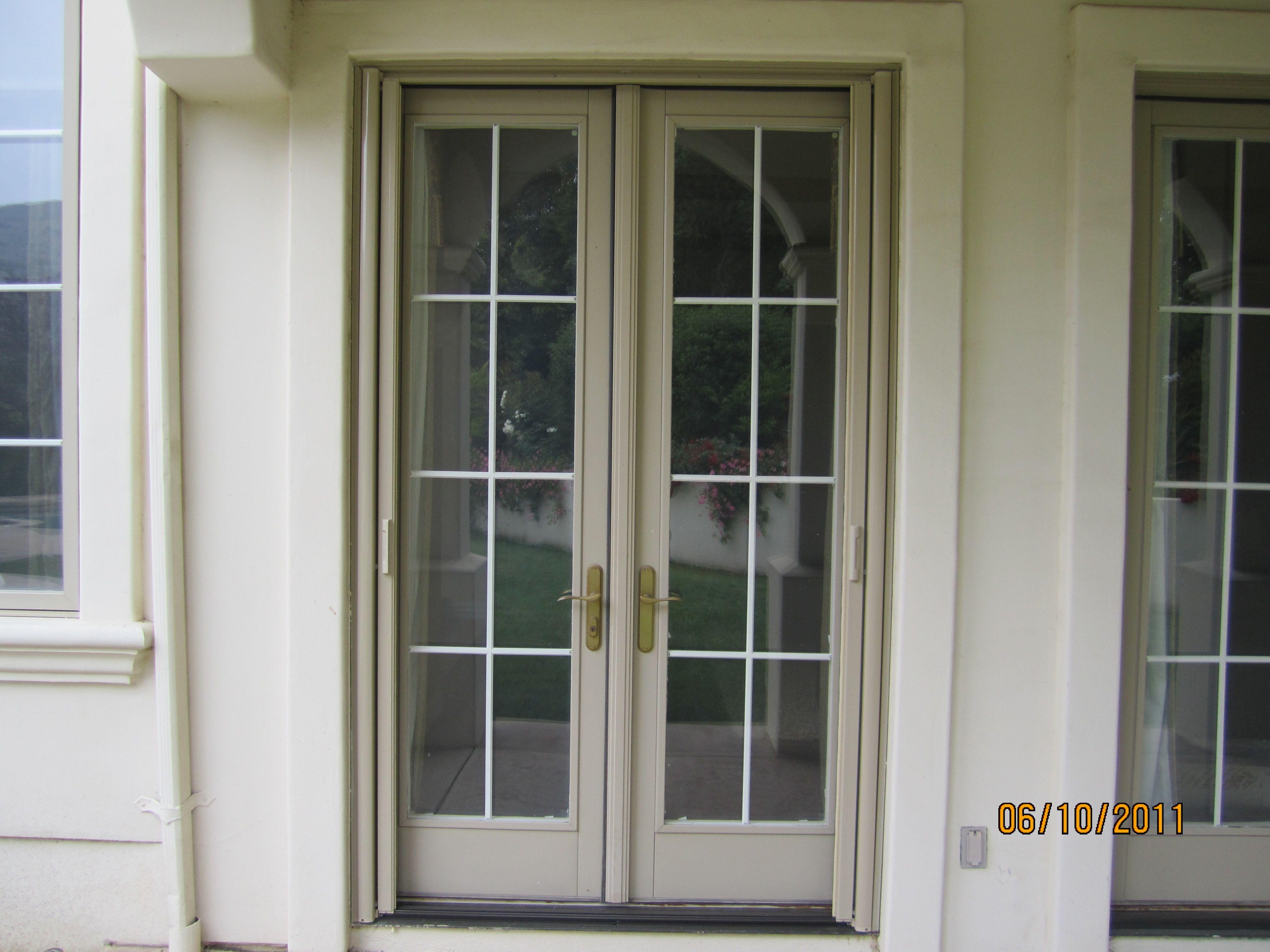 Retractable Screen Door For Double French Doors Http