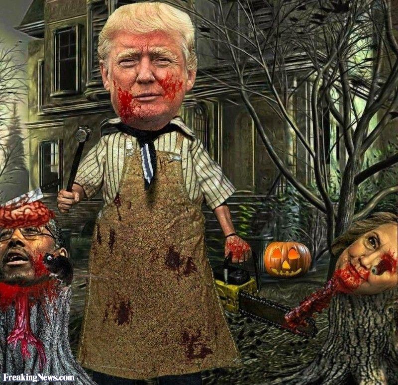 25 Best Ideas About Texas Chainsaw Massacre On Pinterest: The Trump Chainsaw Massacre