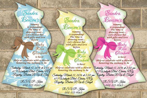 Baby shower invitations baby bump belly silhouette invitation baby shower invitations modern mom baby bump by newyorkinvitations filmwisefo