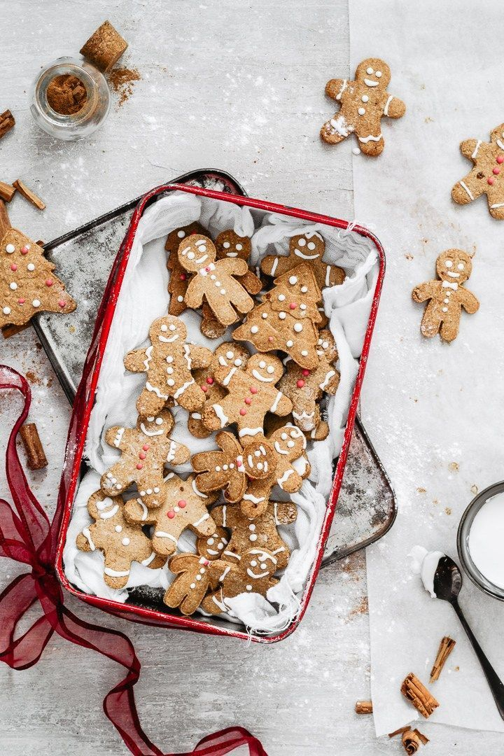 NATURALLY GLUTEN FREE GINGERBREAD COOKIES W/ OAT FLOUR