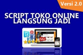 Toko Saya Script Toko Online Langsung Jadi V2 Script