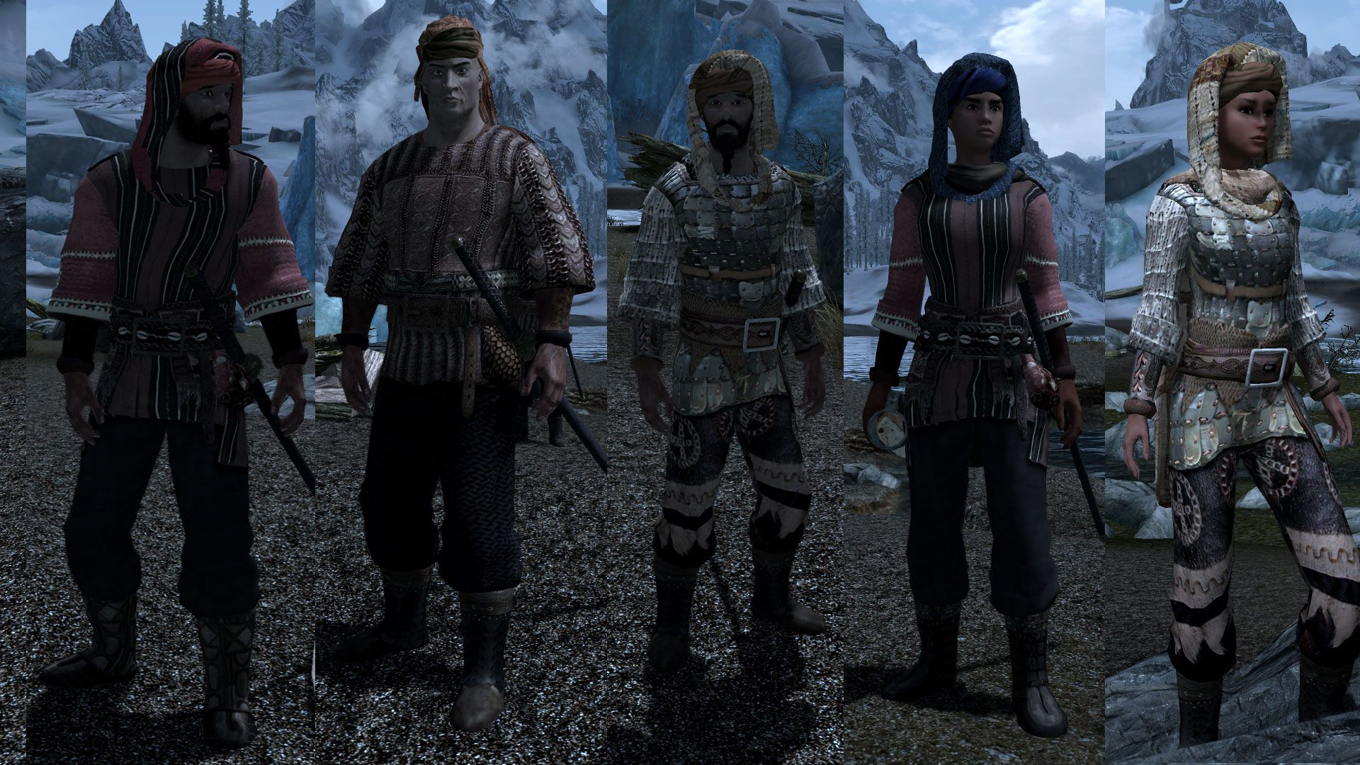 Redguard Fashion SSE - Tasheni Mod Project at Skyrim Special Edition Nexus - Mods and Community | Mod, Fashion, Skyrim