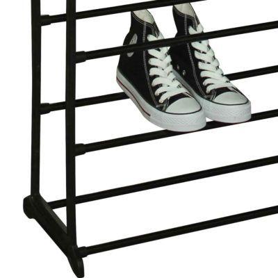 Sunbeam 50 Pair Metal And Plastic Shoe Rack Black Reviews Home Macy S 50 Pair Shoe Rack Shoe Rack Wayfair Shoe Rack