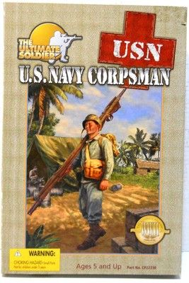 "Ultimate Soldier WWII US Navy Corpsman 1:6 12"" Action ..."