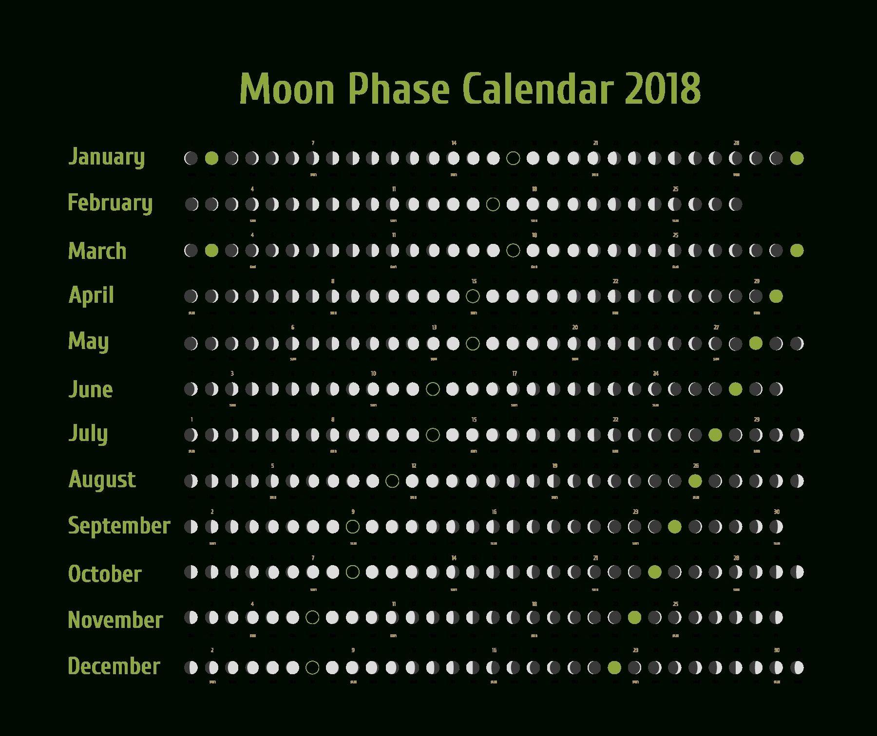 Take September 2019 Through October 3017 Moon Phase Calendar