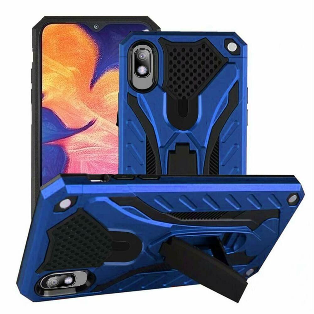 Samsung Galaxy A10e Case Heavy Duty Shockproof Protective With Kickstand Blue Upstone Samsung Galaxy Kickstand Samsung