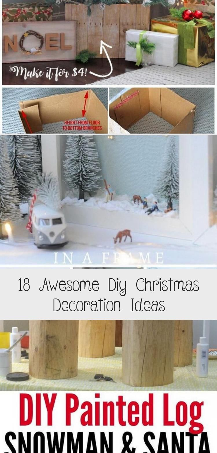 Photo of 18 Awesome Diy Christmas Decoration Ideas – Home Decor Diy