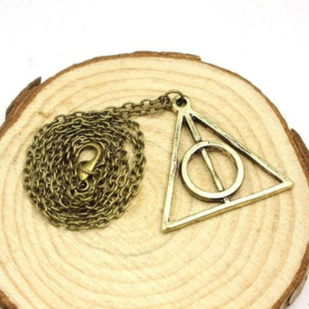 Harry Potter Deathly Hallows Symbol Necklace