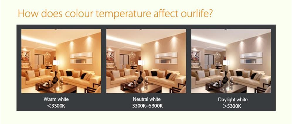 Color Temperature And Rendering Lightbulbs
