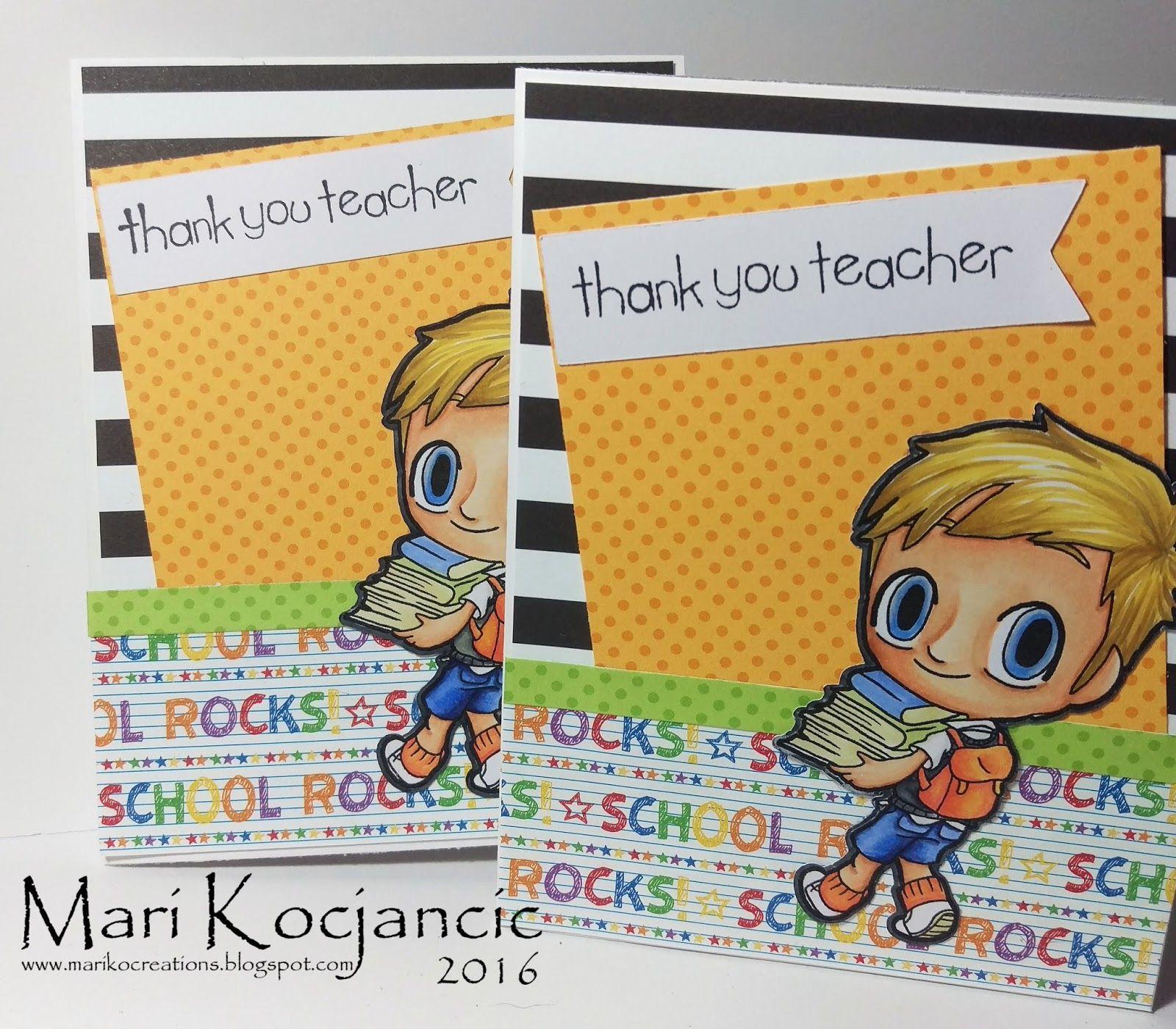Me and My Crazy Family: Thank You Teacher {Teacher