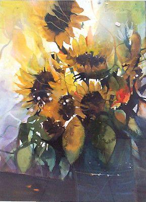 Bernhard Vogel Google Suche Sunflower Painting Flower