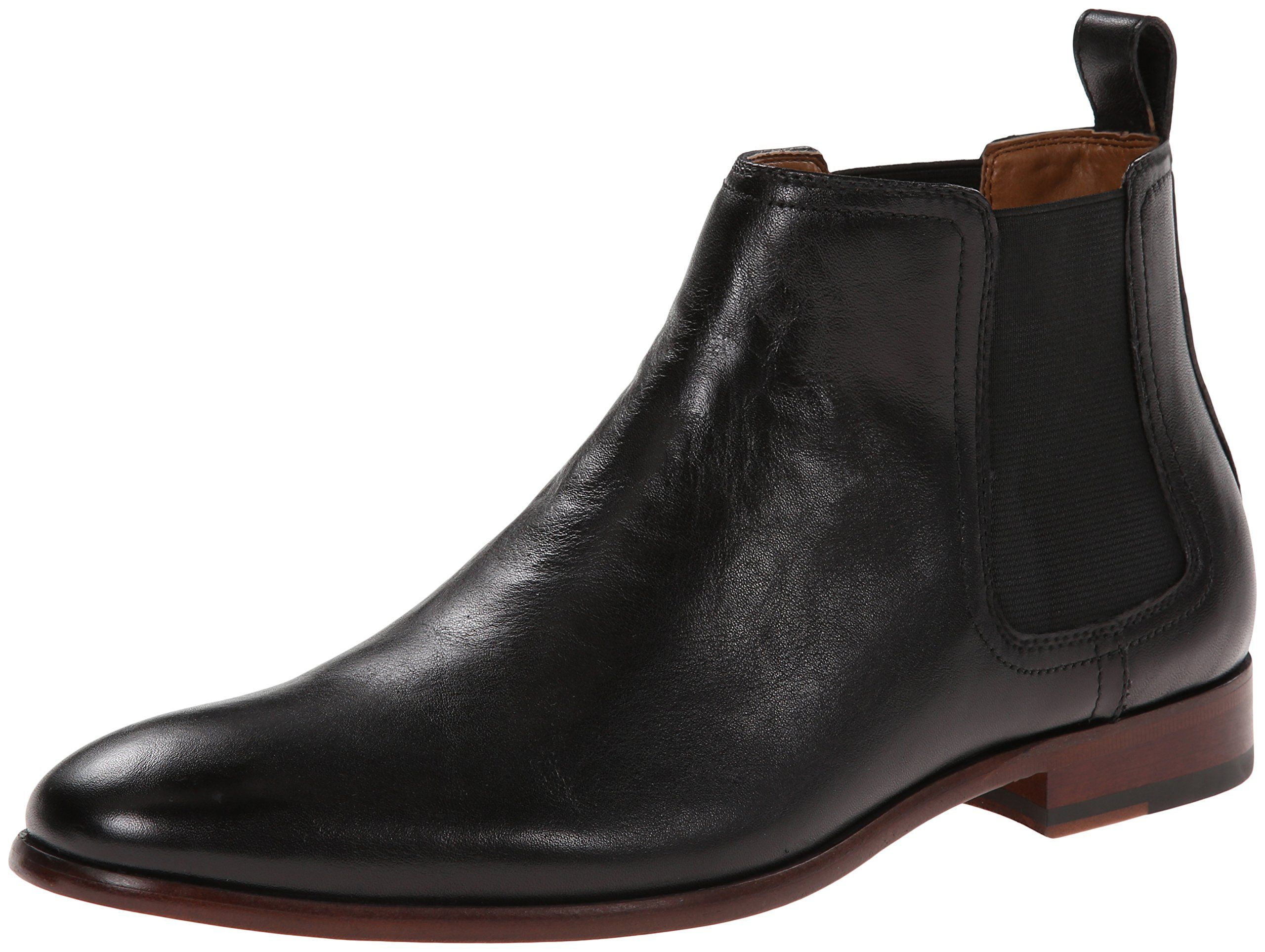 men's aldo boots black leather
