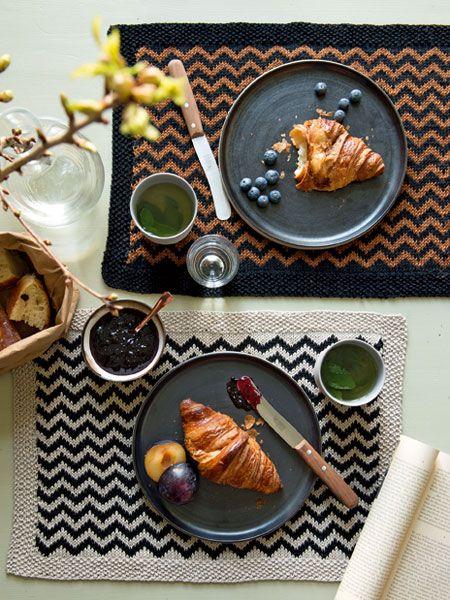 Gratisstrickanleitung Für Ein Tischset Häkeln Pinterest