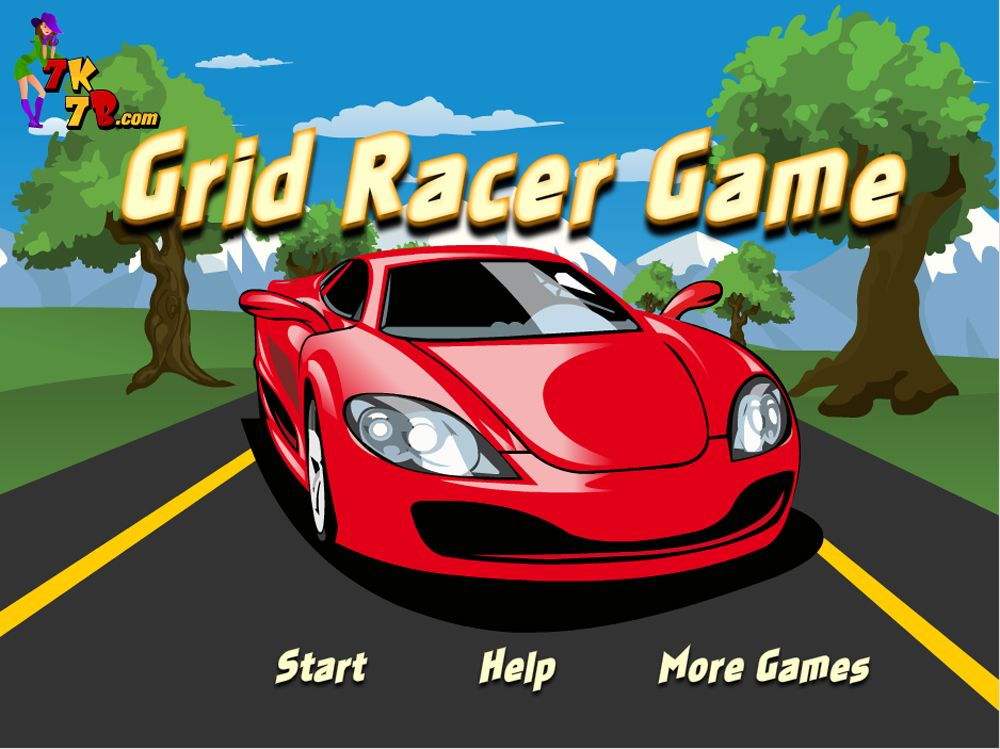 Online Free A Grid Racer Car Game To Play At
